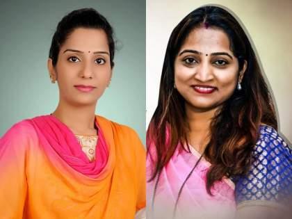 """BJP Sheetal Desai challenge to Shiv Sena Sanjana Ghadi over Clashes between party workers   """"अरेला कारे करणारच, तुम्ही राड्याची तारीख सांगा मग आम्ही...""""; भाजपाचं शिवसेनेला चँलेंज"""