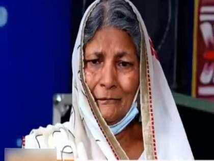 UP hamirpur bjp leader Pramod Agrawal old mother wandering in vrindavan gets viral in social media   अचानक टीव्हीवर LIVE आली भाजपा नेत्याची आई, कसा केला मुलानं छळ?; वेदना ऐकवल्या, लोक संतापले