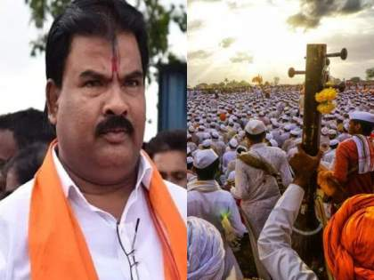 "Shiv Sena MLA Sanjay Gaikwad warning to Varkari Maharaj in Audio Clip over Coronavirus | ""३१ मे लक्षात ठेवा! तुम्ही सगळे महाराज एकत्र या; मग होऊन जाऊद्या आमने-सामने"""