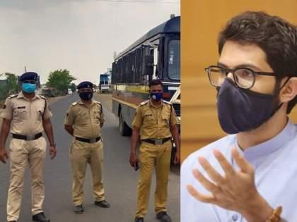 Big news for SRPF! 15-year condition for transfer canceled; Success to Aditya Thackeray demand   SRPF जवानांसाठी मोठी बातमी! बदलीसाठी १५ वर्षाची अट रद्द; आदित्य ठाकरेंच्या 'त्या' मागणीला यश