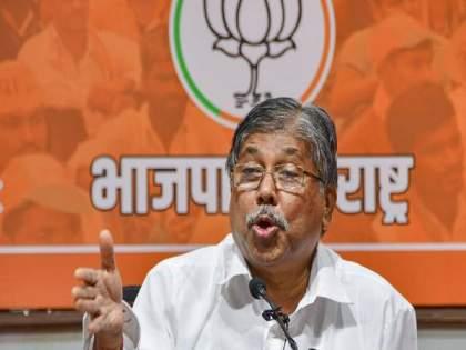 """""""Don't call me a former minister ..."""" Said by BJP state president Chandrakant Patil   Chandrakant Patil: """"माजी मंत्री म्हणू नका...""""; भाजपा प्रदेशाध्यक्ष चंद्रकांत पाटलांच्या दाव्याने भुवया उंचावल्या"""