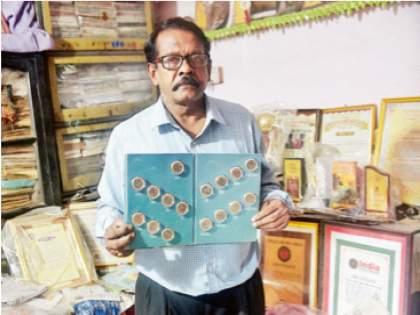 The treasure trove of Olympic collections; Keep memories with Roopkishore Kanojia | साठीतही जपलाय ऑलिम्पिक संग्रहाचा खजिना;रूपकिशोर कनोजिया यांच्याकडे आठवणींचा ठेवा