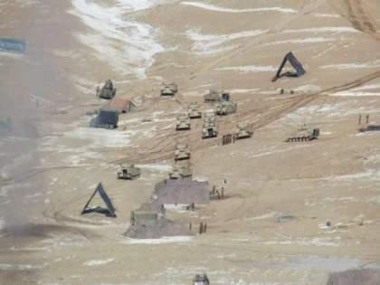 Tents erected by Chinese troops on the Chinese border in Ladakh now? Soldiers in civilian clothes   ड्रगनची नवी चाल!लडाखमध्ये चीन सीमेवर आता चिनी सैनिकांनी उभारले तंबू? नागरिकांच्या वेशात सैनिक