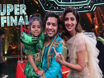 Super Dancer 3 Finale: Rupsa Batabyal Wins Show, Marches Away With Prize Money of Rs 15 Lakh | रुपसा बनली सुपर डान्सर ३ ची विजेती, जिंकल्यानंतर दिली ही प्रतिक्रिया