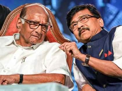 Meeting after Delhi events, sharad Pawar tells Sanjay Raut 'Mann Ki Baat' on mahavikas aghadi | दिल्ली घडामोडीनंतर भेट, महाविकास आघाडीच्या भवितव्याबाबत स्पष्टच बोलले पवार