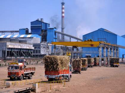 In the sugar production, Maharashtrian state is at the first position   साखरेच्या उत्पादनात महाराष्ट्र राज्य प्रथम स्थानावर