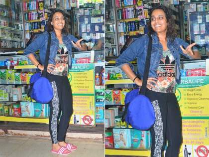 Corona Lock Down: Swara Bhaskar's No makeup look went viral   Corona Lockdown: विना मेकअप लूक झाला व्हायरल, ओळखणेही झाले कठिण