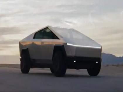 tesla cybertruck electric pickup give 982km driving range 1 million units booked ahead of launch | Tesla चा Electric Cybertruck सिंगल चार्जमध्ये जाणार ९८२ किमी! लाँचपूर्वीच बुक झाल्या १० लाख गाड्या