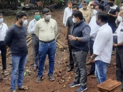 Tauktae Cyclone: Minister Uday Samant had on Monday inquired about the damage caused by the storm in ratnagiri | Tauktae Cyclone: मंत्री उदय सामंत सकाळपासून ऑन फिल्ड; नुकसानग्रस्ताना करणार 'ऑन द स्पॉट' मदत