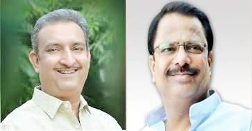 Solapur Political; Dilip Mane for Legislative Council against Prashant Paricharak   Solapur Political; प्रशांत परिचारकांच्या विरोधात विधान परिषदेसाठी दिलीप माने