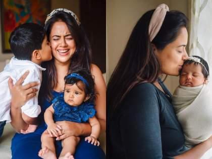 Sameera reddy birthday special know about actress life and career   आई झाल्यावर डिप्रेशनमध्ये गेली होती ही अभिनेत्री, आता जगतेय असे आयुष्य !