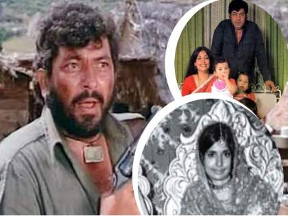 amjad khan and his wife shehla khan love story | लवकर मोठी हो, मी तुझ्याशी लग्न करणार आहे..; 'गब्बर' 14 वर्षांच्या मुलीच्या प्रेमात पडतो तेव्हा....!!