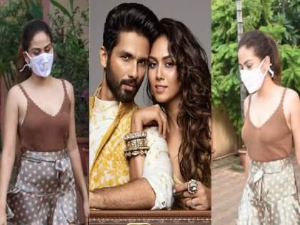 shahid kapoor wife mira rajput gets brutally trolled for her skirt and skin show | पोरीचा स्कर्ट घातलास का? शाहिदची मीरा सोशल मीडियावर होतेय ट्रोल