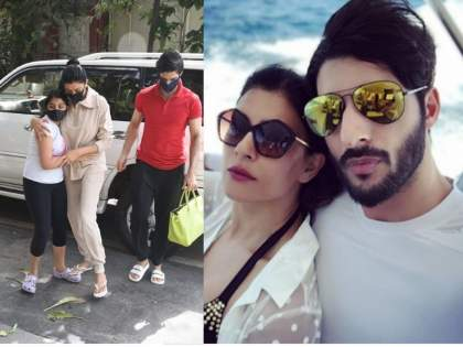 Netizens Troll Sushmita Sen's Boyfriend, Rohman Shawl For Carrying Her Bag, Ask Him To Be A Man   सुश्मिता सेनचा बॉयफ्रेन्ड रोहमन शॉल झाला ट्रोल, मजेशीर आहे कारण