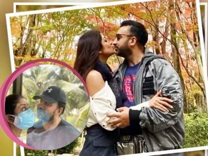 shilpa shetty shares romantic picture with raj kundra with glass wall between-them | लव्ह इन कोरोना...! 'कोरोना पॉझिटीव्ह' पतीसोबत शिल्पा शेट्टीचा अनोखा रोमान्स