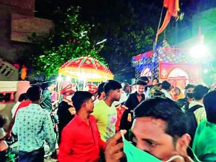 Expensive wedding, a fine of Rs 50,000 | लग्नाची वरात महागात पडली, ५० हजार रुपये दंड