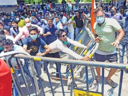 West Bengal CBI Updates: CBI-Trinamool clashes in Bengal after action against ministers | West Bengal CBI Updates:मंत्र्यांवरील कारवाईनंतर बंगालमध्ये सीबीआय-तृणमूलमध्ये जोरदार संघर्ष
