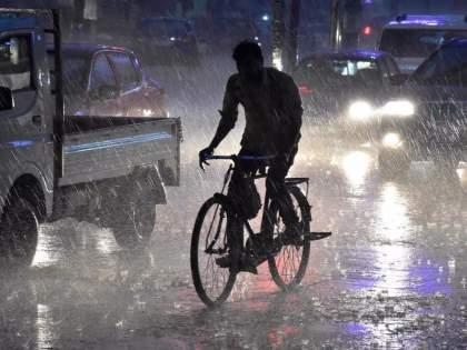 Rain Alert: Torrential in Raigad, Ratnagiri, Sindhudurg, Pune district till 11.30 pm; The next 36 hours are also dangerous | Rain Alert: रात्री 11.30 पर्यंत रायगड, रत्नागिरी, सिंधुदुर्ग, पुणे जिल्ह्यात मुसळधार; पुढील 36 तासही धोक्याचे