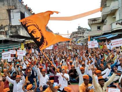 The third phase of 'Maratha Revolution' starts from Tuljapur   तुळजापूर येथून 'मराठा क्रांती'चे तिसरे पर्व सुरू