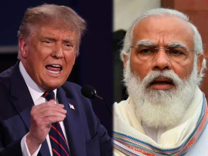 "'Look at India, the air is filthy,' says US President Donald Trump at final debate | ""भारत विषारी हवा सोडणारा देश"", डोनाल्ड ट्रम्प यांचं टीकास्त्र"
