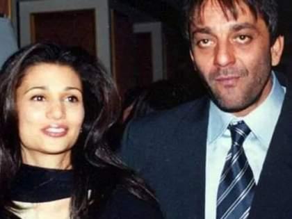 When Sanjay Dutt And Sushmita Sen Were Caught Red-handed By Riya Pillai   पत्नीने प्रसिद्ध अभिनेत्रीसोबत रंगेहात पकडले होते संजय दत्तला, पाठलाग करत पोहोचली होती हॉटेलवर