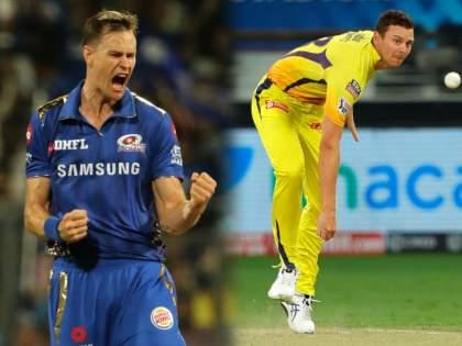 Chennai Super Kings sign Jason Behrendorff as a replacement for Josh Hazlewood for the IPL 2021 season   IPL 2021 : चेन्नई सुपर किंग्सनं खेळला मोठा गेम; मुंबई इंडियन्सच्या माजी गोलंदाजाला घेतलं आपल्या ताफ्यात!