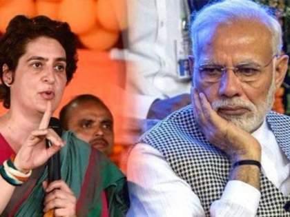"""Congress priyanka gandhi vadra attack on pm narendra modi on vaccine shortage   CoronaVirus News : """"लसीकरण उत्सव साजरा केला पण लसीची व्यवस्थाच नाही""""; प्रियंका गांधी मोदी सरकारवर संतापल्या"""