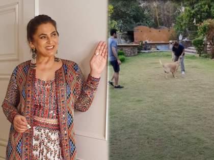 Archana Puran Singh and Parmeet Sethi's luxurious Madh Island home is nothing less than a resort | निसर्गाच्या सानिध्यात वसलाय अर्चना पुरण सिंहचा बंगला, पाहा तिच्या आलिशाने घराचे फोटो