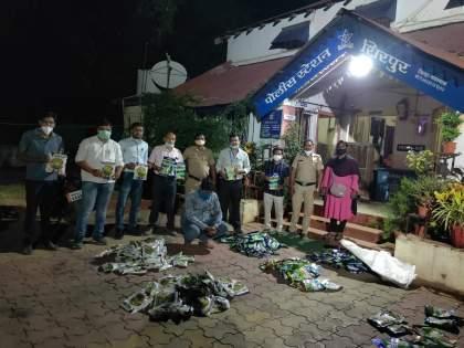 Two lakh bogus seeds seized in Neradpurad | नेरडपुरडमध्ये पावणेदोन लाखांचे बोगस बियाणे जप्त