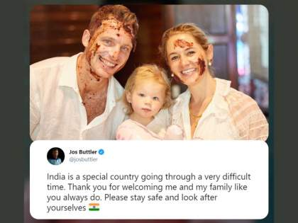 IPL 2021 Suspended: Foreign players disappointed to leave the tournament early because of COVID-19 pandemic | IPL 2021 Suspended: भारत सोडताना भावूक झाले परदेशी खेळाडू; भारतीयांचे मानले आभार अन् सुरक्षित राहण्याचे आवाहन