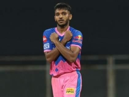IPL 2021: After returning from IPL, RR's Chetan Sakariya's spends days at hospital for COVID-19 positive father   IPL 2021 स्थगितीनंतर घरी परतताच चेतन सकारियाला मिळाली वाईट बातमी, घ्यावी लागली हॉस्पिटलमध्ये धाव!