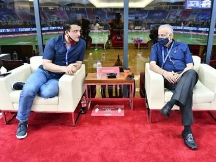 IPL 2021: BCCI President Sourav Ganguly big statement, 'remainder of IPL cannot happen in India', Here is the option   IPL 2021 : बीसीसीआय अध्यक्ष सौरव गांगुलीचं मोठं विधान,'उर्वरित आयपीएल भारतात होणार नाही!'; जाणून घ्या चार पर्याय!