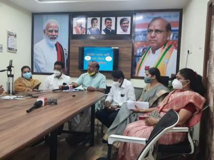 A press conference was held for the arrest of the MLA; Filed a case against BJP MP Ramdas Tadas | आमदाराच्या अटकेसाठी पत्रकार परिषद घेणं भोवलं; भाजपा खा. रामदास तडस यांच्याविरोधात गुन्हा दाखल