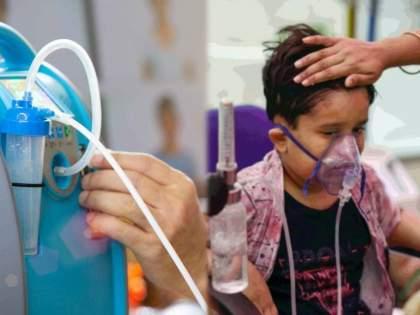 Ghaziabad Excessive oxygen intake at home can cause fatigue in the lungs, which may be increased mortality. | Excessive oxygen intake : घरात जास्तवेळ ऑक्सिजन घेतल्यानं फुफ्फुसांमध्ये जाणवतोय थकवा; मृत्यूदर वाढण्याचं असू शकतं कारण