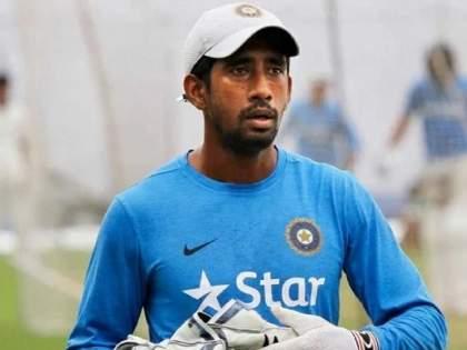 Wriddhiman Saha returns positive COVID-19 result for the second time   Wriddhiman Saha : वृद्धीमान सहाचा कोरोना रिपोर्ट पुन्हा पॉझिटिव्ह; टीम इंडियाच्या अडचणीत होऊ शकते वाढ!
