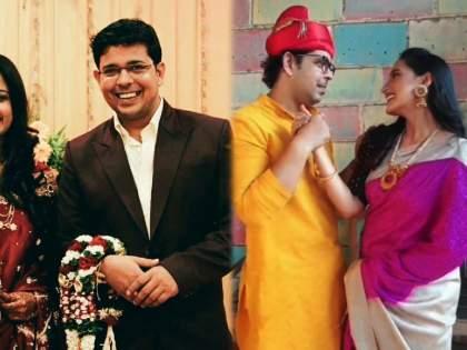 Did you know adwait dadarkar married with actress bhakti desai   'अग्गंबाई सूनबाई'मध्ये सोहमची भूमिका साकारणाऱ्या अद्वैत दादरकरची पत्नी आहे ही प्रसिद्ध मराठमोळी अभिनेत्री
