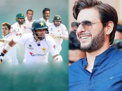 Shahid Afridi congratulate Pakistan Team who beat zimbabwe in T20I & Test Series | Great work Pakistan!; पाकिस्तान संघानं झिम्बाब्वेला लोळवलं अन् शाहिद आफ्रिदीनं उधळली स्तुतीसुमनं!