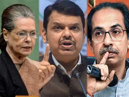 Opposition leader Devendra Fadnavis has written a letter to Congress president Sonia Gandhi | देवेंद्र फडणवीसांचे थेट सोनिया गांधींना पत्र; महाराष्ट्रातील परिस्थितीची करुन दिली जाणीव