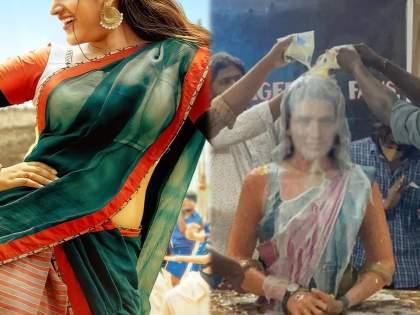 Nidhi Agrawal's crazy fan built temple of her name and worships her like Goddess | या अभिनेत्रीची करण्यात येते देवासारखी पूजाअर्चा, तिच्या नावाने बांधण्यात आले मंदिर