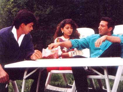 Actor sunny deol angry with yash chopra for seen with srk in darr   शाहरुख खानसोबतच्या एक सीनमुळे सनी देओलचा दिग्दर्शकाबरोबर झाला होता वाद, कारण वाचून व्हाल हैराण