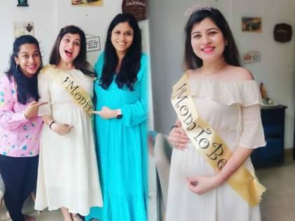 Someone will come ..!, Singer Sawani Ravindra shared a photo of Baby Shower   कुणी तरी येणार गं..!, गायिका सावनी रवींद्रने शेअर केले बेबी शॉवरचे फोटो
