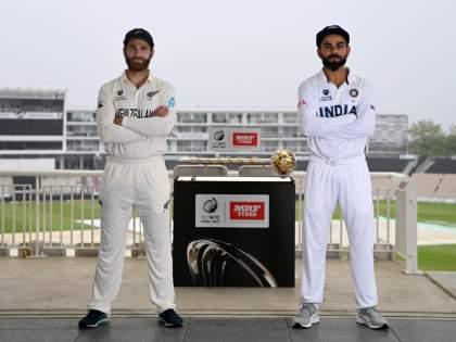 WTC final 2021 Ind vs NZ Test : It is still raining in Southampton, there is high chance 1st session might be washed out   WTC Final 2021 IND vs NZ : Big News : भारत-न्यूझीलंड ऐतिहासिक कसोटीच्या पहिल्या दिवसाचे पहिले सत्र रद्द?; आलं मोठं संकट
