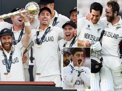 WTC final 2021 Ind vs NZ Test : A country with 5 million beating a country with 1.4 Billion, Michael Vaughan congratulate NZ   WTC final 2021 Ind vs NZ Test : ५ कोटी लोकसंख्या असलेल्या देशासमोर १.४ अब्ज लोकांचा देश हरला; मायकेल वॉननं टीम इंडियाला डिवचलं!