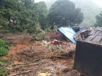 Maharashtra Rain Live Updates: 3 families go missing in Patan taluka | Maharashtra Rain Updates : पाटण तालुक्यात दरड कोसळल्याने घरे मातीच्या ढिगाऱ्याखाली, 3 कुटुंबातील लोक बेपत्ता