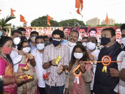 Aditya Thackeray said the municipal schools will be 'glamor schools' like England   इंग्लंडप्रमाणे महापालिका शाळा 'ग्रामर स्कूल' करणार, आदित्य ठाकरेंची ग्वाही