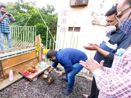 Kopar bridge to be opened before Ganesh Charturthi, information of Dipesh Mhatre | गणेश चतुर्थीच्या आधी खुला होणार कोपर पूल, दिपेश म्हात्रेंची माहिती