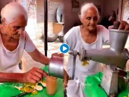 80 year old woman runs stall in amritsar watch viral video | स्वावलंबी आजी! 80 व्या वर्षीही जगण्यासाठी करावा लागतोय संघर्ष; कष्ट करून भरताहेत पोट; Video व्हायरल