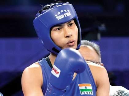 Tokyo Olympics: Lovlina Borgohain beats Chinese Taipei's Chin-Chen Nien 4-1, assured of a medal   मोठी बातमी: लवलीनाचा परफेक्ट पंच, ऑलिम्पिकमध्ये भारतासाठी दुसरे पदक केले निश्चित