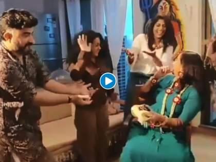 Marathi actress Smita Tambe very soon enjoy motherhood, Celebrated Dohale Jevan Function | मराठी अभिनेत्रीच्या घरी कोणी तरी येणार गं, नुकताच पार पडला डोहाळे जेवणाचा कार्यक्रम