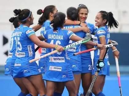 Tokyo Olympics: Chak De India! The Indian women's team defeated the mighty Australia in the semi-finals | Tokyo Olympics: चक दे इंडिया! बलाढ्य ऑस्ट्रेलियाला पराभवाचा धक्का देत भारतीय महिला संघ उपांत्य फेरीत